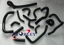 Silicone Heater Hose Kit For NISSAN Skyline R32 R33 R34 GTR RB26DET BLACK
