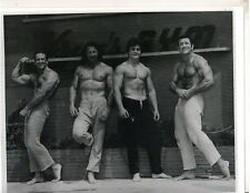 4 Bodybuilders Front Vince Gironda's Gym/MACKEY,TESSIER,CARSON,LEIDERMAN Photo