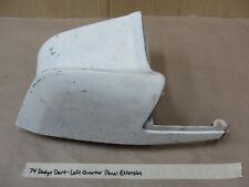 OEM 1974 Dodge Dart LEFT DRIVER SIDE REAR QUARTER PANEL TAIL LIGHT EXTENSION