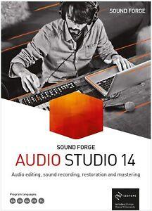 MAGIX Sound Forge Audio Studio 14 Boxed