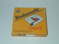 KODAK couleur photos instantané KODAMATIC périmé en 1986 photo photographie