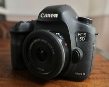 Canon EOS 5D Mark III, Canon 40mm 2.8 STM Lens, 5x Genuine LP-E6, 4x CF And More