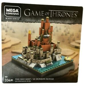 Mega Construx Game Of Thrones The Red Keep Building Set Black Series