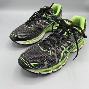 Asics Gel Nimbus 16 Men's Size 9 Lite Show Apple Green & Black Running Shoes