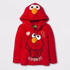 NWT size 2T Sesame Street Elmo Adorbs Hoodie Jacket. Adorable!