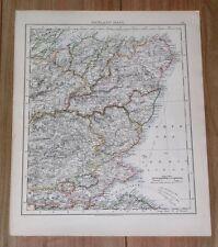 1906 MAP OF CANTYRE ISLAY JURA ARGYLL MULL VERNESS ARRAN / ABERDEEN / SCOTLAND