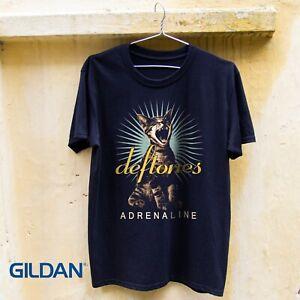 Deftones Adrenaline Cat T-shirt Size S-3XL Free Shipping