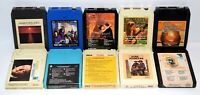 Lot of 10 Various Vintage 8-Track Tapes Some Rare As Shown In Pictures - Lot # 7
