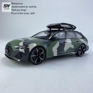 GT Spirit Audi RS6 C8 Avant 1:18 Camouflage mit Dachbox Shoppreis 149€