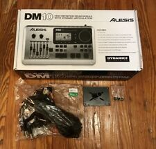 Alesis DM10 Drum Module NEW w/Snake Cable & Mount Electronic Kit Harness Brain