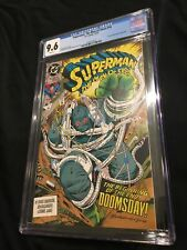 DC Superman The Man of Steel #18 (1st App of Doomsday) Comic Book 9.6 CGC 1992