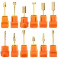 Metal Manicure & Pedicure Nail Drill Bits