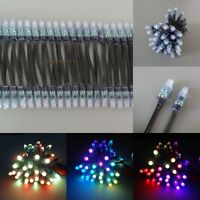 Wholesale Black Round WS2811 LED Pixel Digital Diffused 12mm RGB Light P68 12V