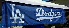Los Angeles Dodgers 8ft x 2Ft Tailgate Banner flag, canopy banner