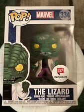 Funko pop Marvel the Lizard #334 Spiderman vinyl Walgreens Exclusive