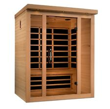 ***New 2020 Model*** Dynamic Vila 3 Person Ultra Low EMF FAR Infrared Sauna New