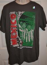 Mexico National Team 2014 Soccer T-Shirt,New,Grey,Green,World Cup 2014,Brazil