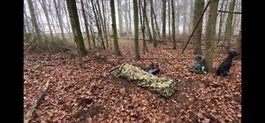 Dutch Army Hooped Bivvy Bag