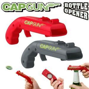 Gun Plastic Beer Bottle Opener Cap Launcher Xmas Party DrinkingGame Top Shooter