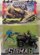 GI Joe Cobra Sigma 6 Mission: Desert Blast Cobra Bat Duke & Motorized Vehicle