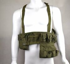 WWII Chinese Surplus Type 63 Rifle Combat Webbing Bandolier Gear Pouches
