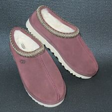 UGG Tasman Moccasin Slippers 5950 Men's Size US 10 Suede Burgundy NEW