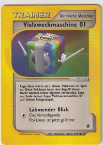 Pokemon Karte Trading Expedition Nr. 144/165 Vielzweckmaschine 01 deutsch