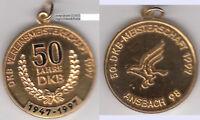 Ansbach DKB Kanarienzucht Goldbronzemedaile 1997 ca. 20,74 g ca. 40 mm Kratzer