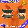 FRONT REAR Brake Pads HUSABERG TE 300 2T 2011 2012 2013 2014