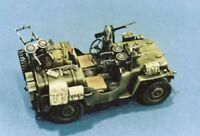 Italeri 1/35 willy's JEEP Commando coche #320