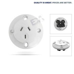 Panel Mount Plug Surface Socket Flush Base Power Point Outlet GPO