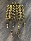 17 Pcs. Vintage 80s Brass Drop Drawer Cabinet Pulls Lot CP 2519 Gold Canada