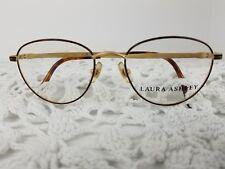 New LAURA ASHLEY Jennifer Women's Eyeglass Frames 49 17 135 Satin Tortoise Color