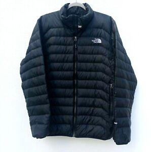THE NORTH FACE Men's 600 FILL GOOSE DOWN FULL ZIP PUFFER Jacket/Coat BLACK Sz.L