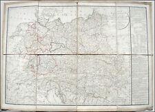 CARTE ALLEMAGNE contenant ROYAUME de PRUSSE et EMPIRE d'AUTRICHE - 1820