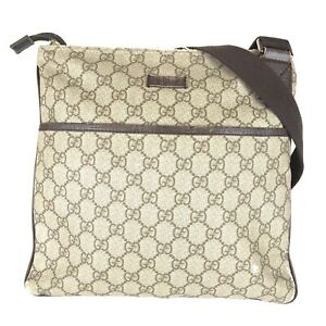 100% authentic Gucci GG 141626 shoulder bag used 1091-3-e@1