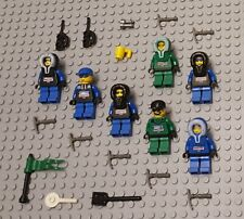LEGO Minifigures 7 Arctic Expedition Explorers Army Soldier Guys People Minifigs
