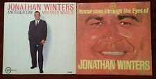 JONATHAN WINTERS 2 LP comedy set very good shape first press on both