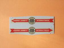 "Lesney Matchbox Series Major pack M9 ""Cooper Jarrett "" Transfers/Decals"