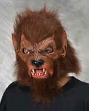 Werewolf Mask Wolfman Wolf Fangs Scary Frightening Halloween Costume M3006