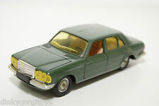SOLIDO 47 MERCEDES BENZ 280E 280 E METALLIC GREEN VERY NEAR MINT CONDITION
