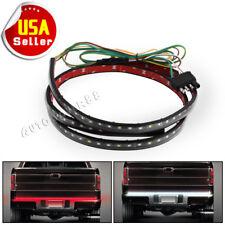 "60"" Multi-Function LED Strip Tailgate Bar Reverse Brake Signal Light Truck SUV"