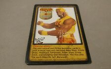 WWE Raw Deal WWF HULK HOGAN TRISH STRATUS SUMMER SLAM #19 PROMO CARD