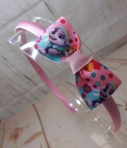 Girls  Alice Style Bands Headbands Pink Paw Patrol