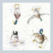 Wrendale Country Set Paper Napkins Waddle & Quack Duck