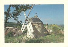 Le MOULIN à VENT de LAUTREC + le village - Carte postale couleurs neuve + TARN