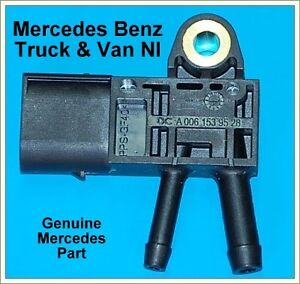 Mercedes Sprinter Exhaust  DPF Pressure Sensor, A 6429050100
