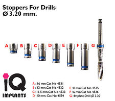 Drill Stoppers 3.2mm. Dental Implant - implants.Surgery
