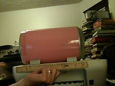 CD/DVD Storage Case - PINK Cola Can - Holds Up To 30+ - 1 Touch Glide Drawer
