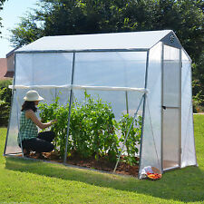 6x8 PALRAM GREENHOUSE POLYCARBONATE ROOF ALUMINUM FRAME rrp£179.99